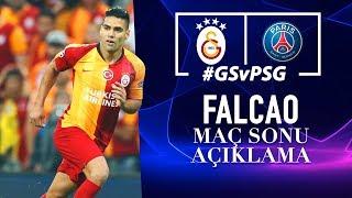 🎙 Radamel Falcao'nun Maç Sonu Açıklamaları | #UCL #GSvPSG