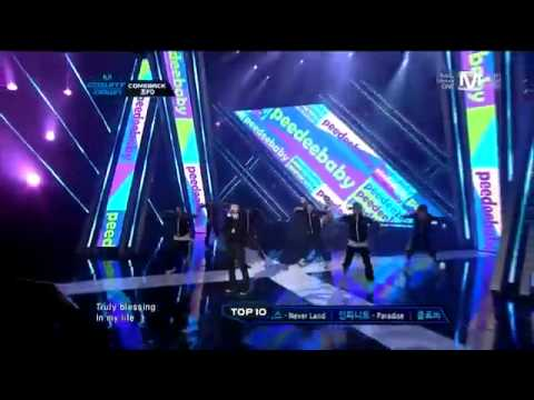 111013 Cho PD ft Block B (Taeil & Kyung) - Family Man : Comeback Stage