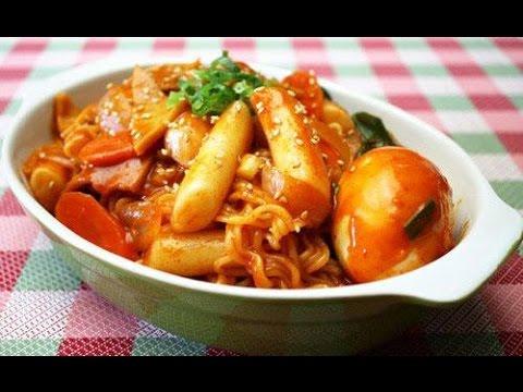 Hướng dẫn nấu ăn số 6: Cách làm bánh gạo Tokbokki Hàn Quốc (Tokbokki of Korea)