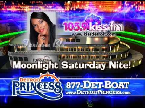 Saturday Kiss Moonlight Cruise with Fantasee Blu