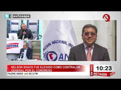 Nicolás Lúcar en Exitosa Noticias Programa Completo 20 de julio de 2017