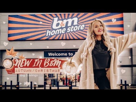 NEW IN B&M *AUTUMN/CHRISTMAS 2019!* | COME TO B&M WITH US!