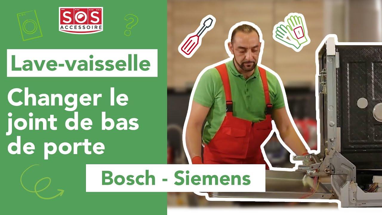 Comment Changer Le Joint De Bas De Porte D Un Lave Vaisselle Bosch Siemens