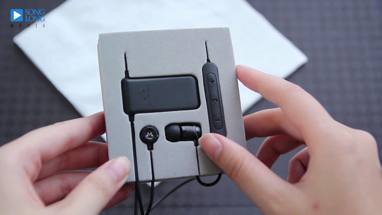 Mở hộp tai nghe bluetooth SoundMagic E10BT: Pin trâu, dễ đeo, âm thanh giống E10