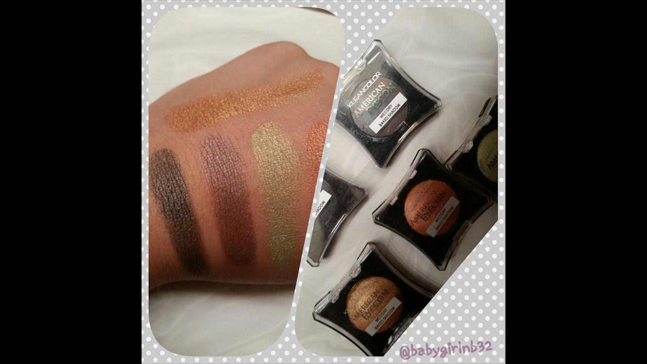 American Eyedol Baked Eyeshadow by kleancolor #21