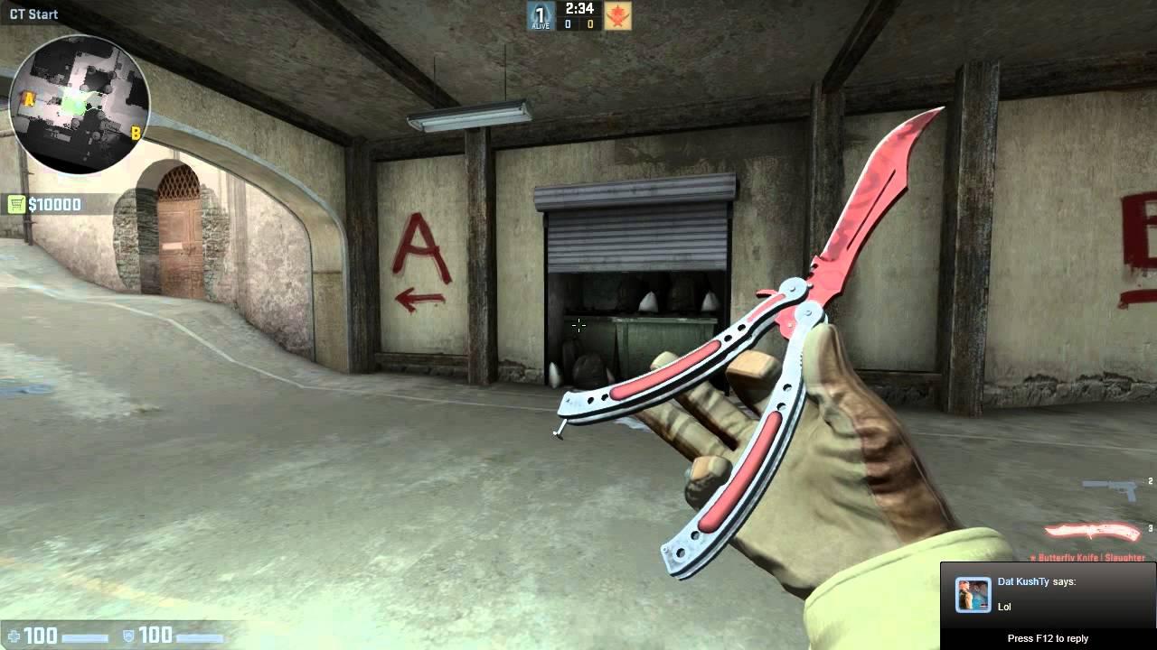Steam cs go butterfly knife самые дешевые скины в cs go