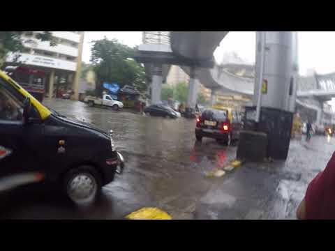 Nana chowk in rain 2017