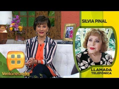 ¡Silvia Pinal nos cuenta cómo se encuentra de salud!   Ventaneando