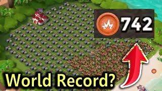 GBE! WORLD RECORD!? CRAZY BASE | Boom Beach