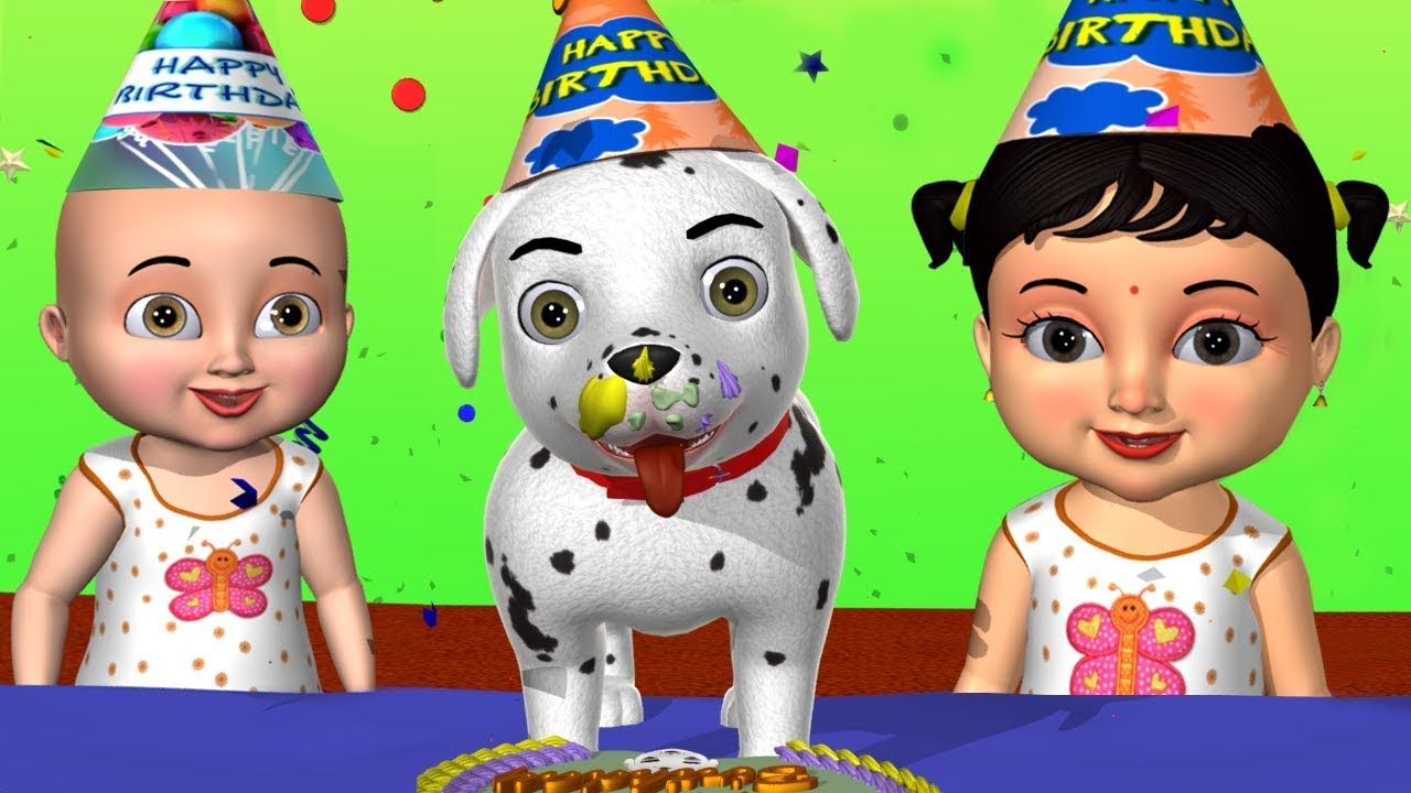 My Little Dog Song -3D Animation Dog Songs & Nursery Rhymes for Children