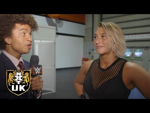 Rhea Ripley promises to rip through the NXT UK Women's division: NXT UK Exclusive, Nov. 21, 2018