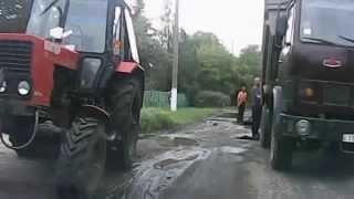 ремонт дороги К Заря Зачатьевка в Розовском районе 25 06 2015(, 2015-06-26T11:44:46.000Z)