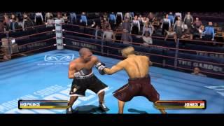 Fight Night Round 3 - Hopkins Vs Roy Jones Jr Gameplay PC