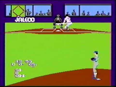 GAME ファミコン ジャレコ 燃えろ!!プロ野球 バントでホームラン