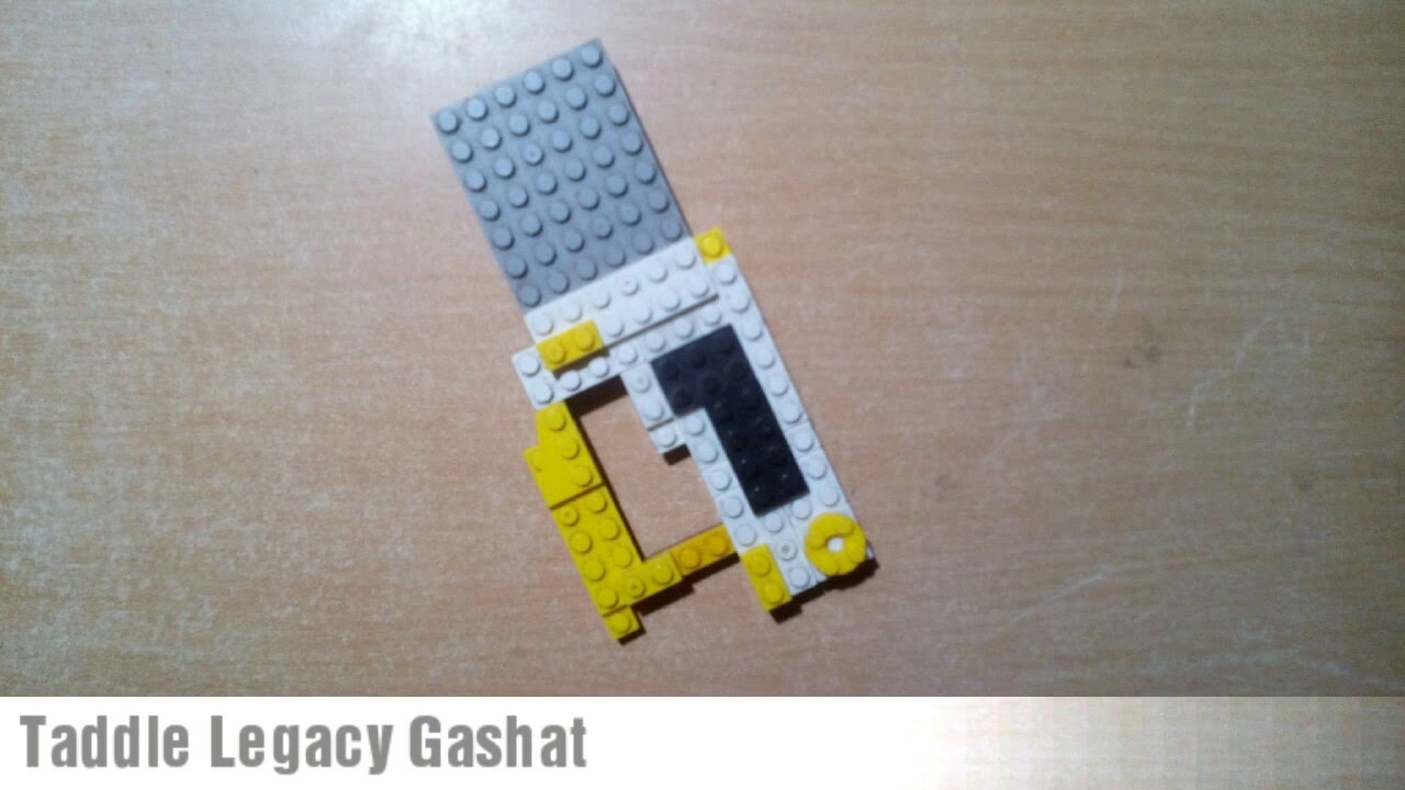 467 Lego Taddle Legacy Gashat Kamen Rider Brave Lv 100 Youtube