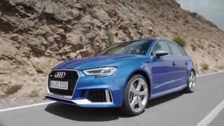 Audi RS3 sportback 2017 test drive