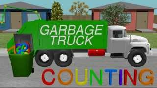Counting Garbage Truck - Learning for Kids