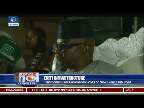Governor Fayose Commissions New Ikere Ekiti Road