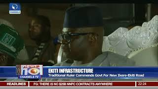 Governor Fayose Commissions New Ikere Ekiti Road