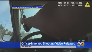 Anaheim Police Releases Video Of Shooting That Killed Eliuth Nava; Officer Fired