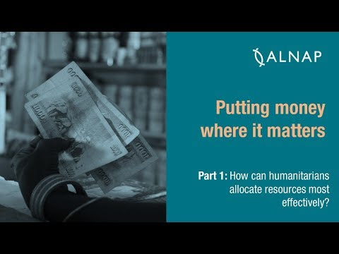 Part 1 | Putting money where it matters: Allocating humanitarian resources