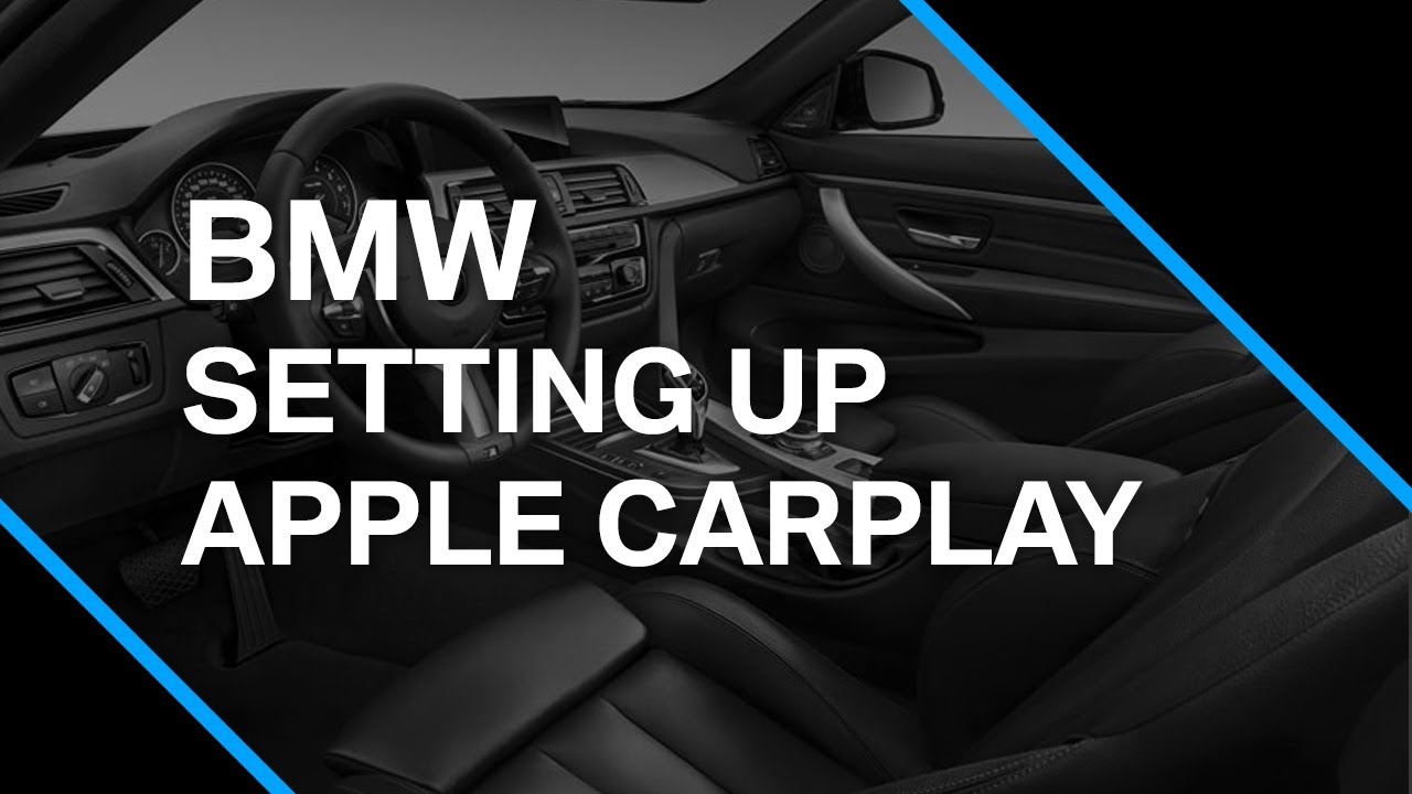 Discover How To Setup Apple Carplay In A BMW X3