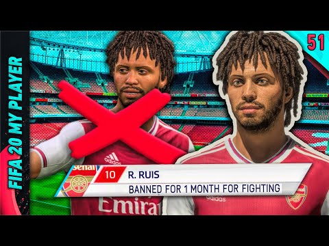 BANNED FOR A MONTH... | FIFA 20 My Player Career Mode W/GTA Roleplay | Episode #51