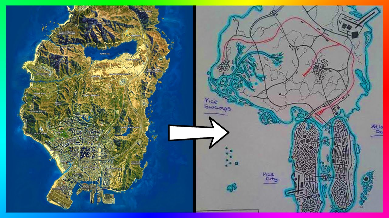 INCREDIBLE Updated Version of Re-Imagined Vice City - Vice City 2 ...