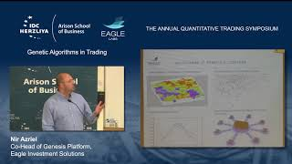 The Annual Quantitative Trading Symposium - Genetic Algorithms in Trading