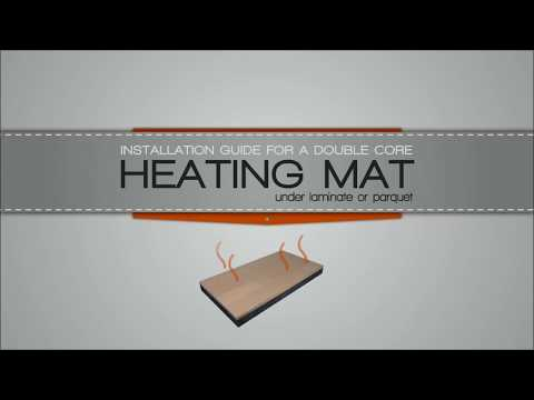Underfloor heating mats installation guide for wood & laminate   WarmOn