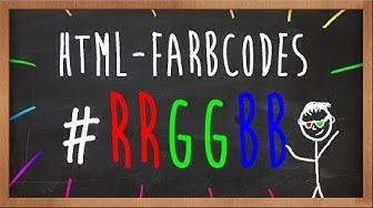 HTML Farbcodes erklärt