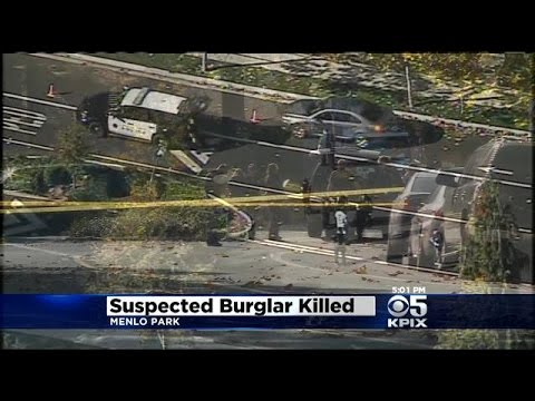 Menlo Park Police Shoot, Kill Armed Burglary Suspect