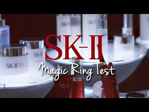 SK-II Magic Ring Test: Before and After Using SK-II!