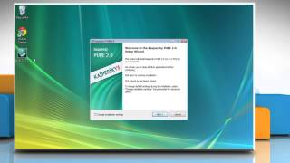 How to install Kaspersky® Pure Total Security on Windows® Vista