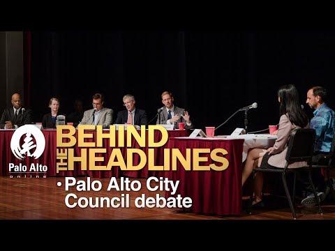 Palo Alto City Council Debate