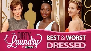 Repeat youtube video Best and Worst Dressed Oscars 2014  - Dirty Laundry