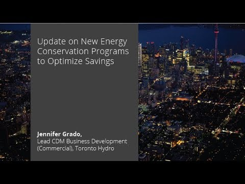 Update on New Energy Conservation Programs to Optimize Savin