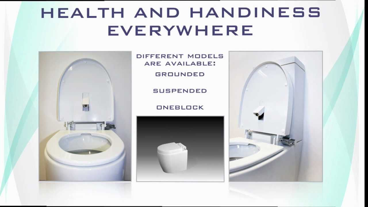 WC and BIDET in ONE SOLUTION!!!! - YouTube