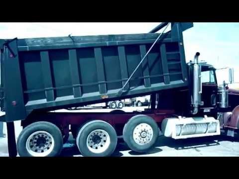 Camion de volteo Freightliner Guatemala