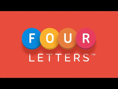 Four Letters Trailer - The fun new word game from PikPok for iOS and Android!