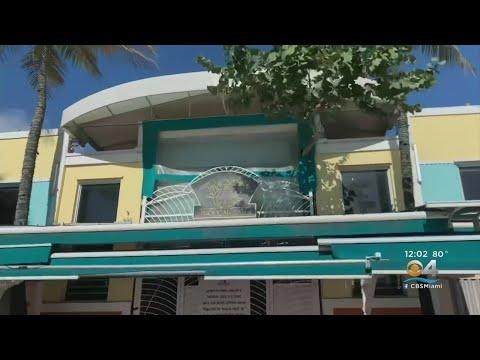 Miami Beach, Virtually A Ghost Town