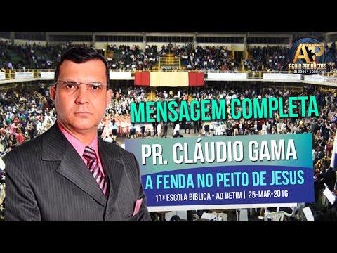 PR. CLÁUDIO GAMA - A FENDA NO PEITO DE...