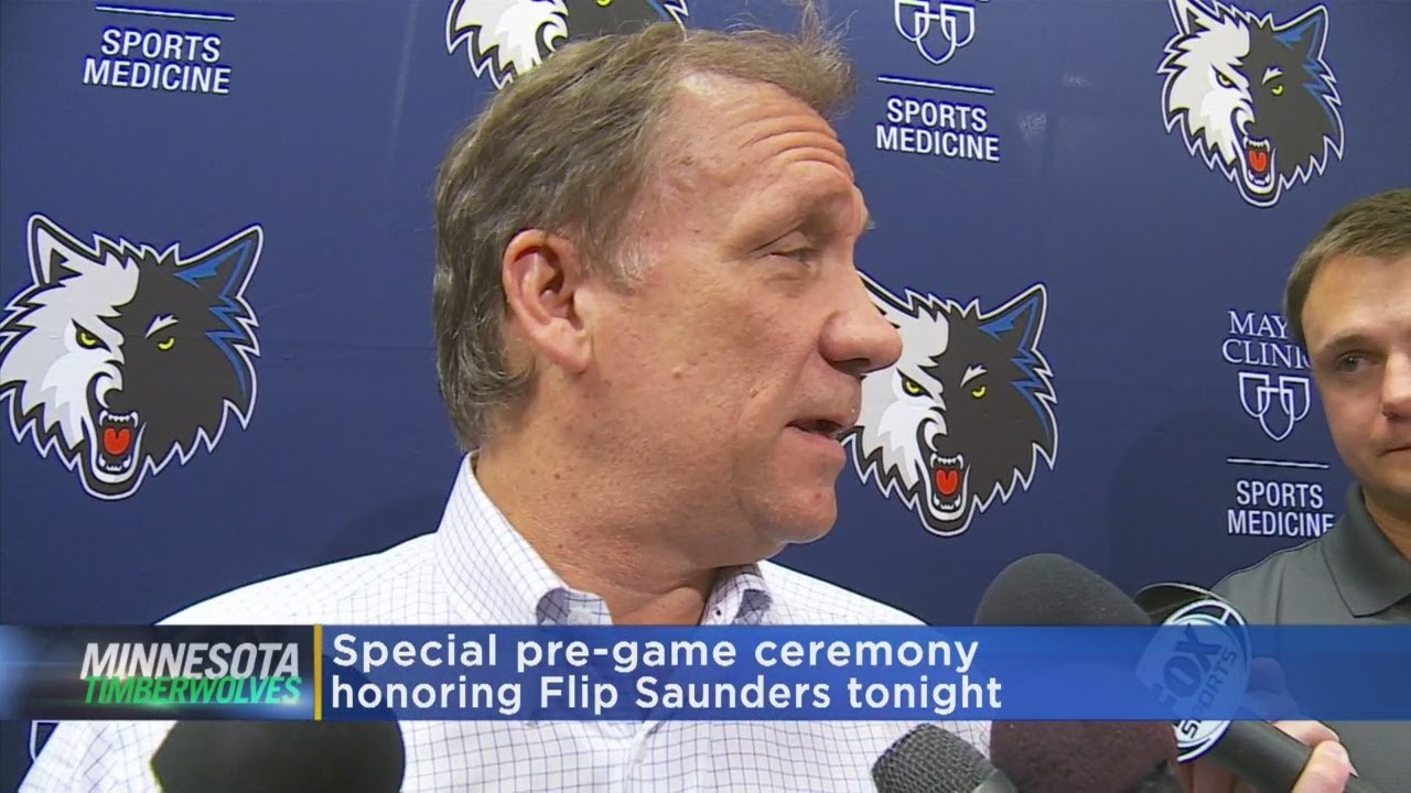 Wolves To Honor Flip Saunders Before Game Against Lakers