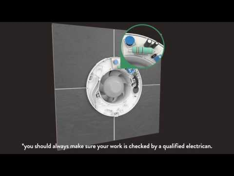 How-To Install Xpelair Bathroom Fan - Standard & Timer | B&M ... on manrose extractor fans, vent-axia extractor fans, direct drive wall exhaust fans, panasonic extractor fans,