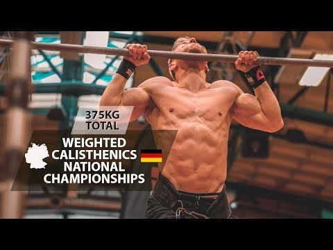 1 REP MAX WEIGHTED CALISTHENICS CHAMPIONSHIPS