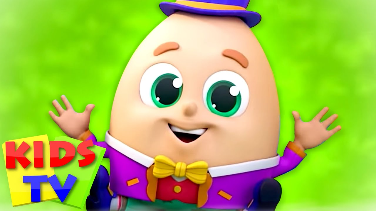 Humpty Dumpty Song + More Nursery Rhymes & Baby Songs | Children's Music | Super Supremes | Kids Tv
