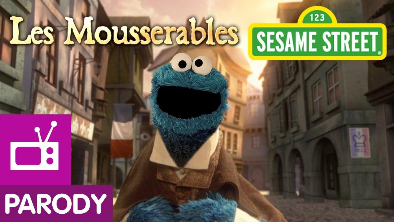 Sesame Street Les Mousserables Les Mis Parody