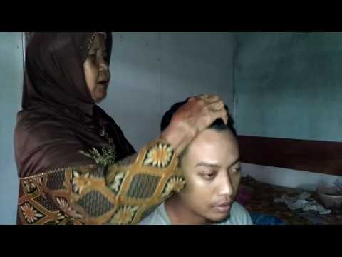 Indonesian Traditional Head Massage No Talking [ASMR Video] - Si Mbah
