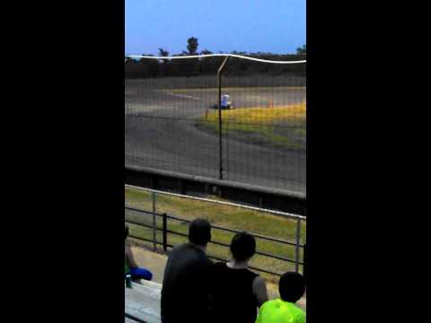 Gulf Coast Speedway 7-13-13 Mike 1st Race