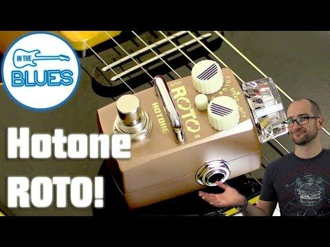 Hotone Roto Rotation Speaker Simulation Modulation Pedal